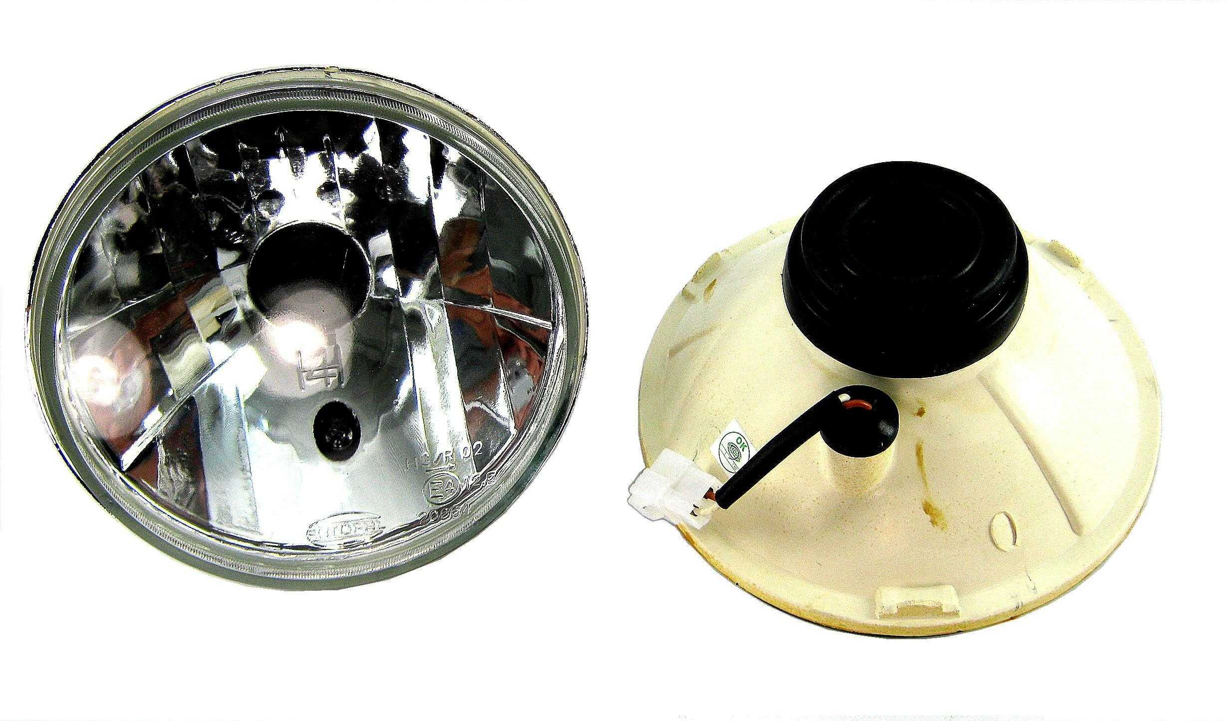 eBay.com.sg: Crystal Head lights Ford Cortina Mk1 Mk2 Mk3 lamps H4 (item